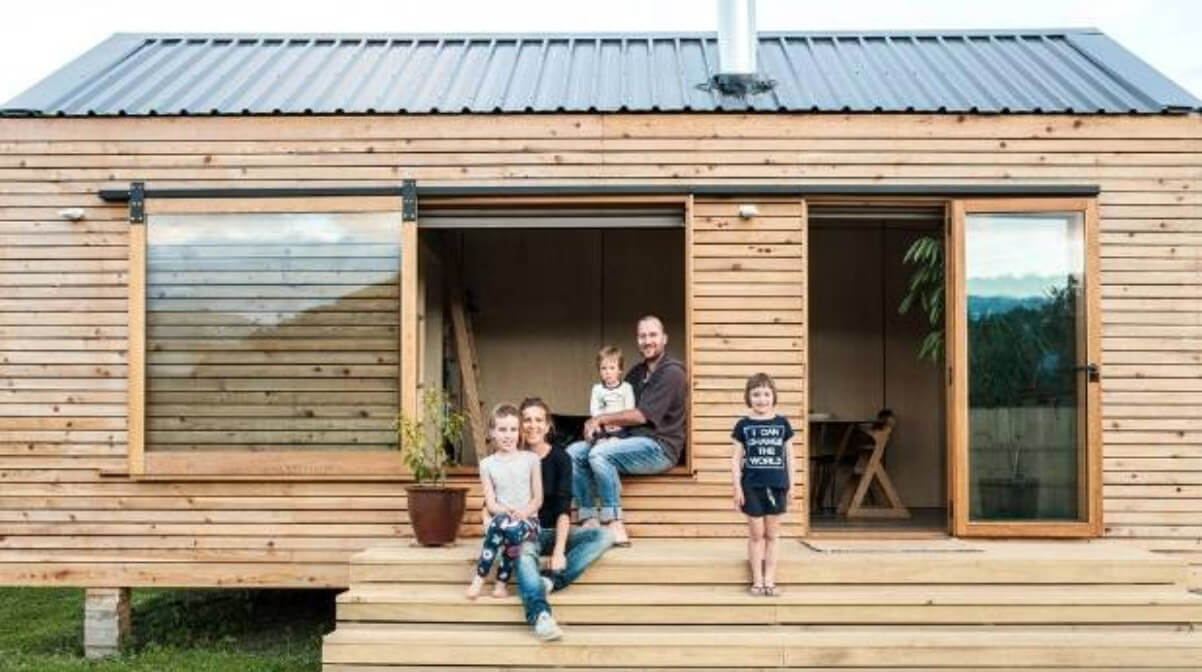 Example tiny home in NZ
